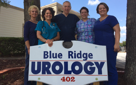 Team by Blue Ridge Urology sign